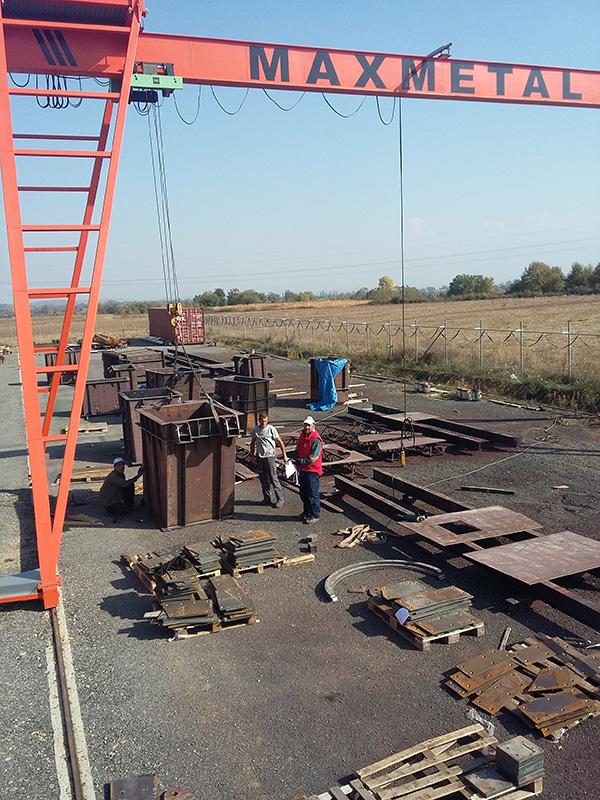 Μεταλλικές κατασκευές - γερανογέφυρες
