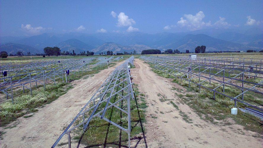 βάσεις φωτοβολταίκών Λαμία 900 KW